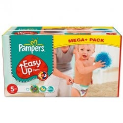 Maxi Pack 168 Couches de Pampers Easy Up taille 5 sur Tooly