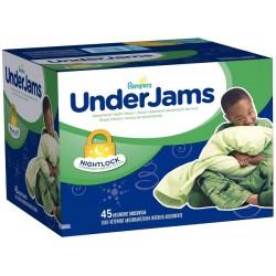 Pack économique d'une quantité de 45 Sous-vêtements jetables Pampers de la gamme Underjams pour Garçons taille L/XL sur Tooly