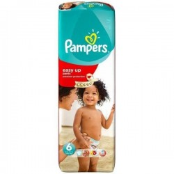 Pack 38 Couches Pampers Easy Up de taille 6 sur Tooly