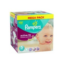 Maxi Pack 299 Couches de Pampers Active Fit taille 5 sur Tooly