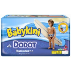 Pack d'une quantité de 11 Couches de bains de Dodot Maillot de bain taille 5 sur Tooly
