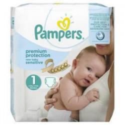Pack 22 Couches de Pampers Premium Care de taille 1 sur Tooly