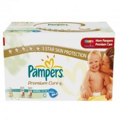 Pack économique de 336 Couches de la marque Pampers Premium Care Pants de taille 3 sur Tooly